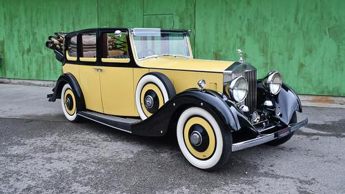 1935 Rolls-Royce 20/25 Convertible by Vincents of Reading