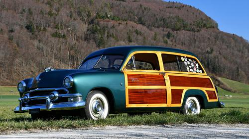 1951 Ford Custom Country Squire Station Wagon
