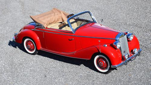 1951 Mercedes 170 S Cabriolet A