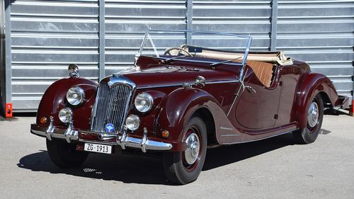 1950 Riley RMC 2.5-Litre Roadster