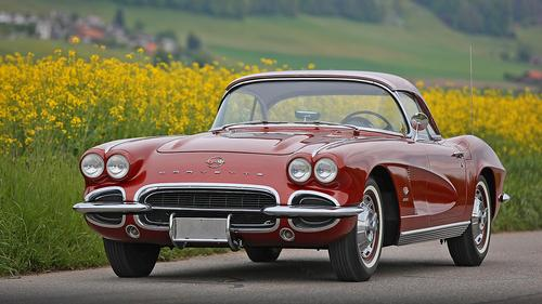 1962 Chevrolet Corvette C1 Fuel Injection