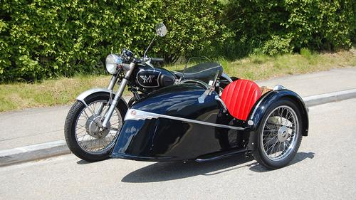 1954 Matchless G80 Sidecar
